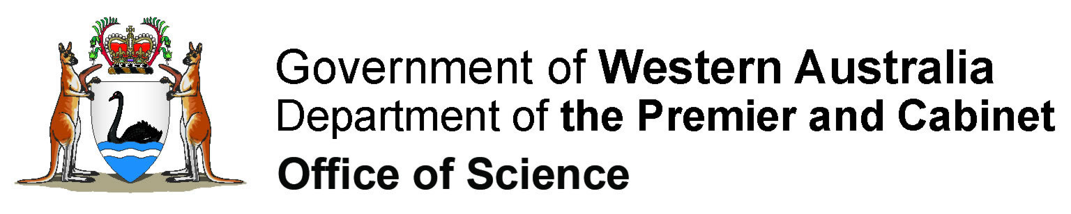Office of Science, WA Government logo